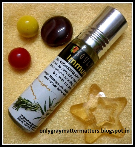 Souflower Immune Boost Aromatherapy roll-on review