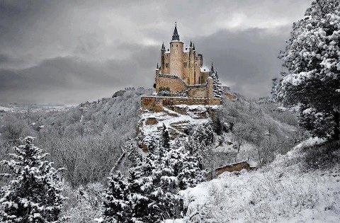Alcazar Castle, Segovia, Spain, jjbjorkman.blogspot.com