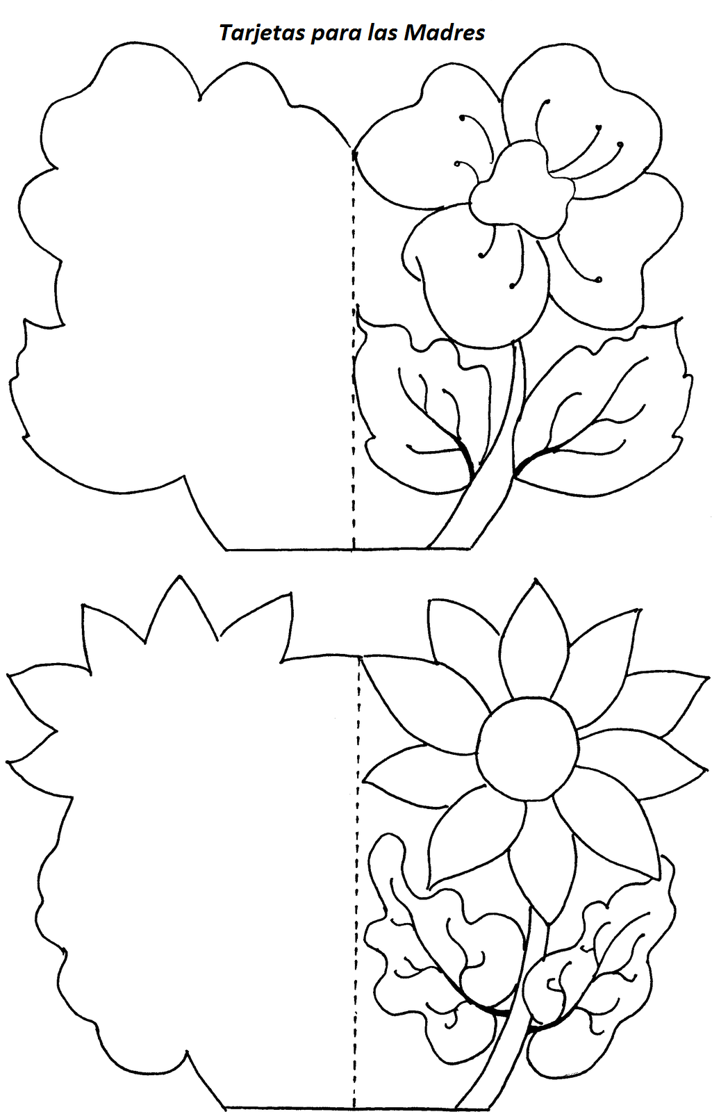Tarjetas de la amistad para colorear - Imagui