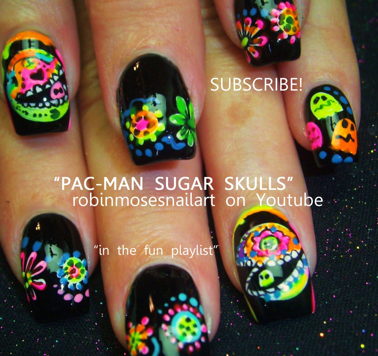 Robin moses nail art skull nails halloween nails red rose nail art tutorials halloween nails diy easy halloween for beginners and up halloween nail art designs tutorial prinsesfo Images