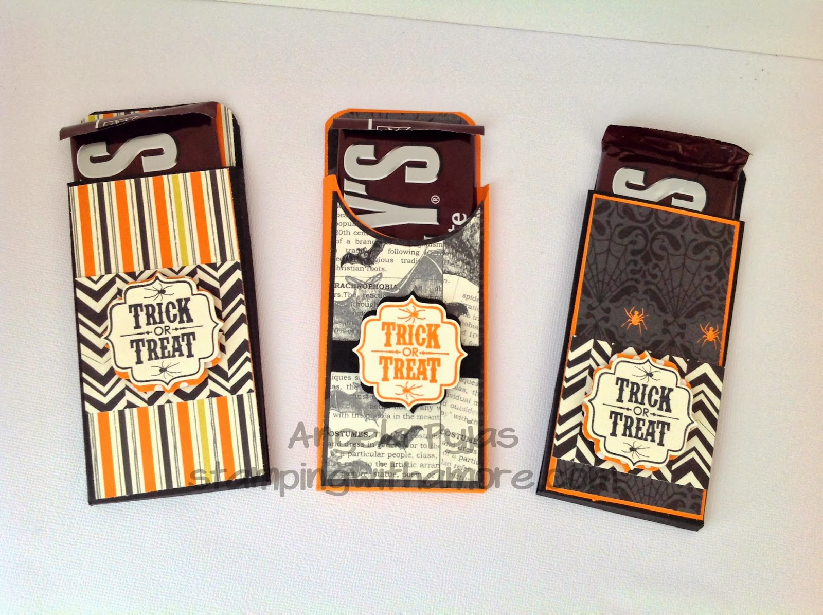 stampingwithamore: halloween candy treat pouch