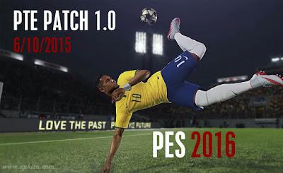 PES 2016 PTE Patch 1.0 Terbaru Oktober 2015