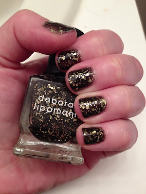 Deborah Lippmann, Deborah Lippmann Cleopatra In New York, glitter nail polish, nail polish, nail varnish, nail lacquer, manicure, mani monday, #manimonday, nails