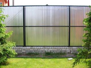 Забор из профлиста. Фото 20