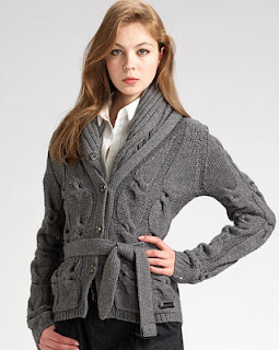 Cable Knit Cardigans for Women