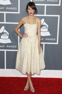 Alexa Chung Grammys 2013