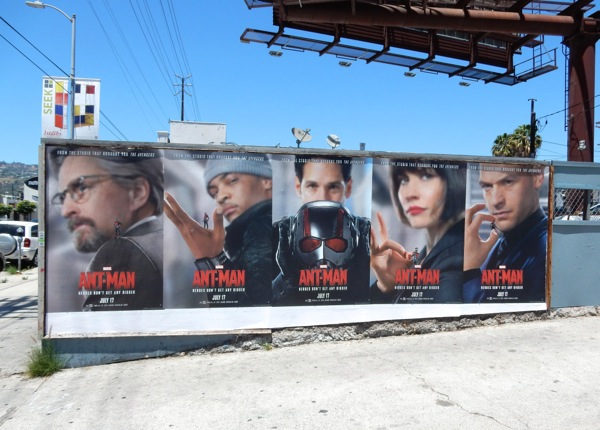 Ant-Man movie posters Los Angeles