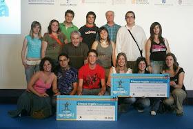"""""""Sierraldía"""", primer premio nacional """"El País de los Estudiantes"""" (2006)"""