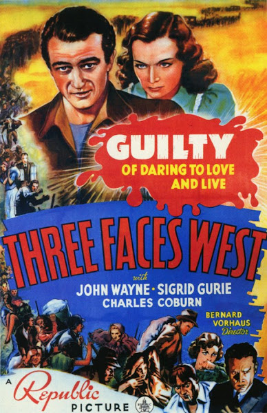 Watch Three Faces West (1940) Hollywood Movie Online | Three Faces West (1940) Hollywood Movie Poster
