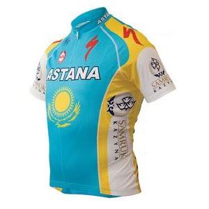 Contrats des coureurs 1+maillot+astana