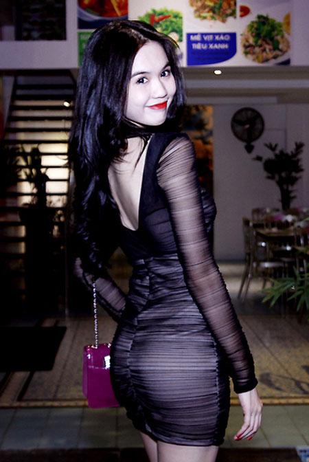 Ngoc Trinh Beautiful with black skirt - Viet Nam Bikini Model - 1000 ...