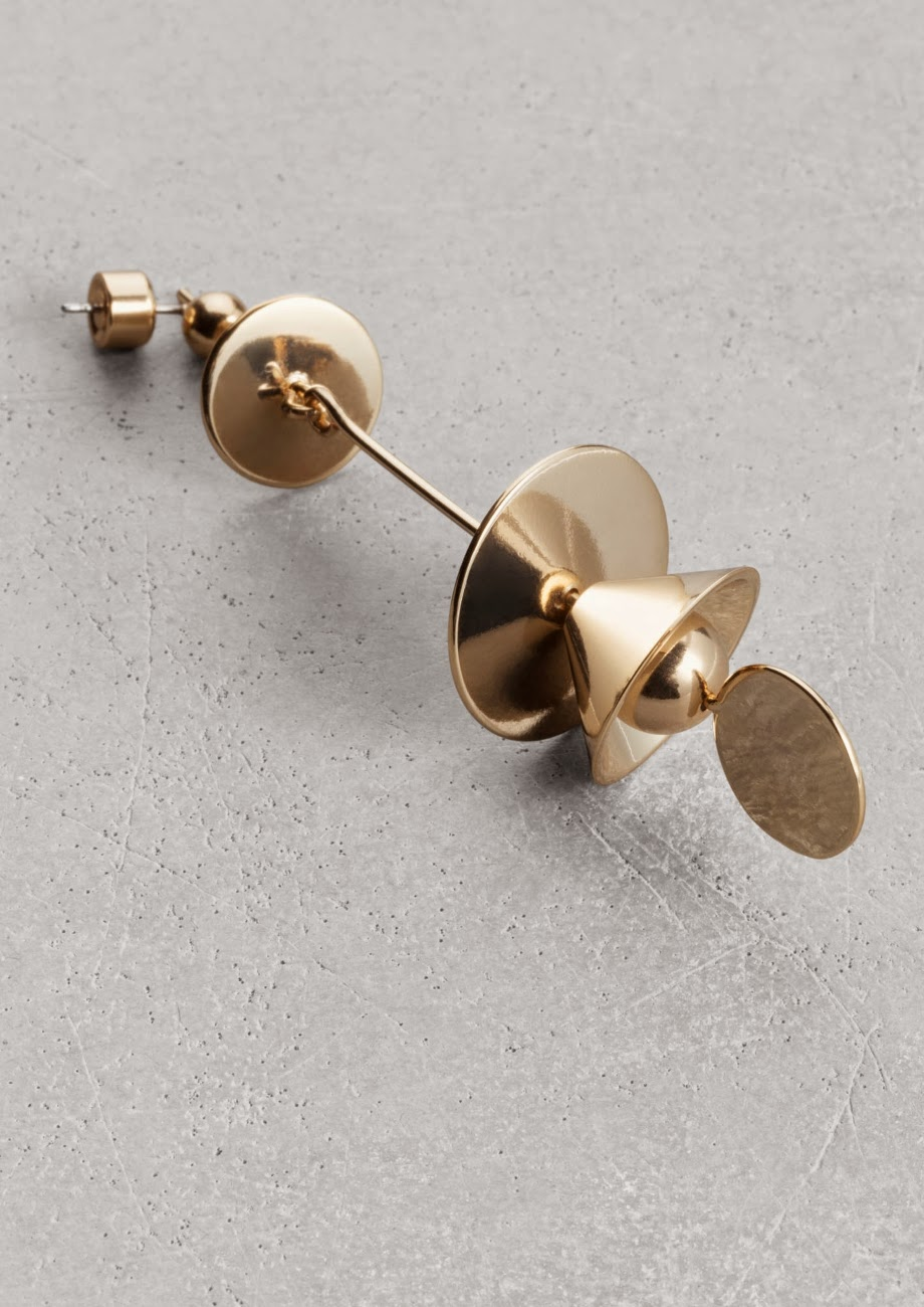 stories gold earring