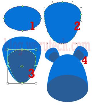 Menggambar Kartun Sederhana Dengan Phothoshop CS3
