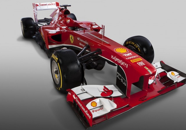auto 2013 Nova Ferrari F138 Grand Prix