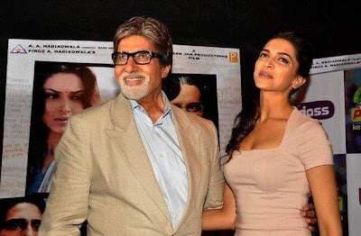 Amitabh & Deepika Promote Aarakshan wallpapers