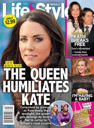 Kate Middleton: HUMILIATED By Queen Elizabeth II? » Gossip/Kate Middleton