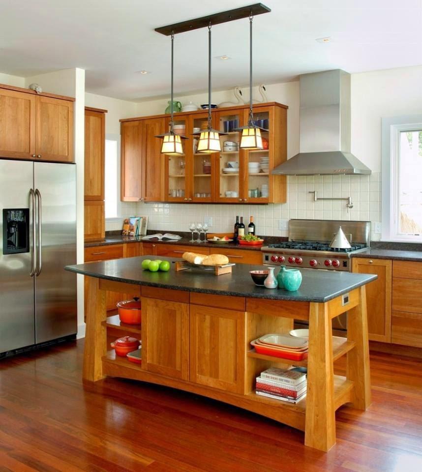 Construindo Minha Casa Clean Ideias De Cozinhas R Sticas Modernas  ~ Fogao A Lenha Cozinha Moderna