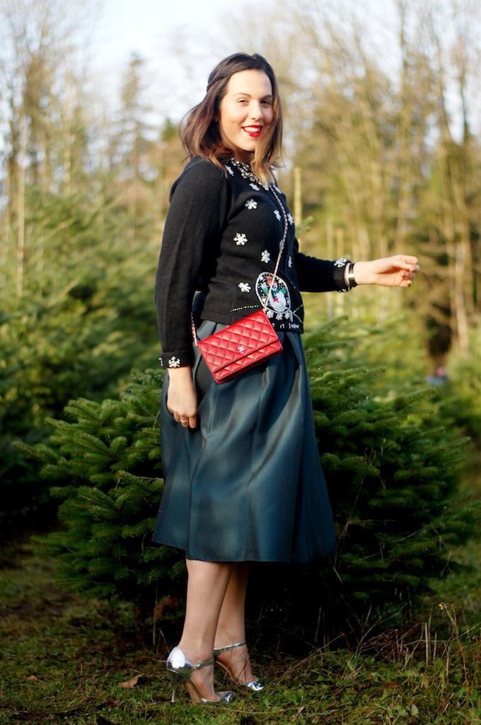 Christmas outfit idea Vancouver blogger