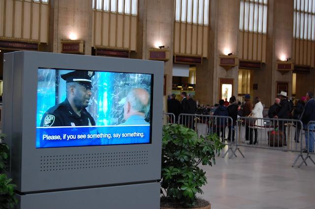 warning 30th Street Station