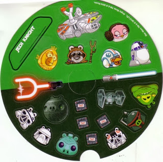 Front of Angry Birds Star Wars stickers