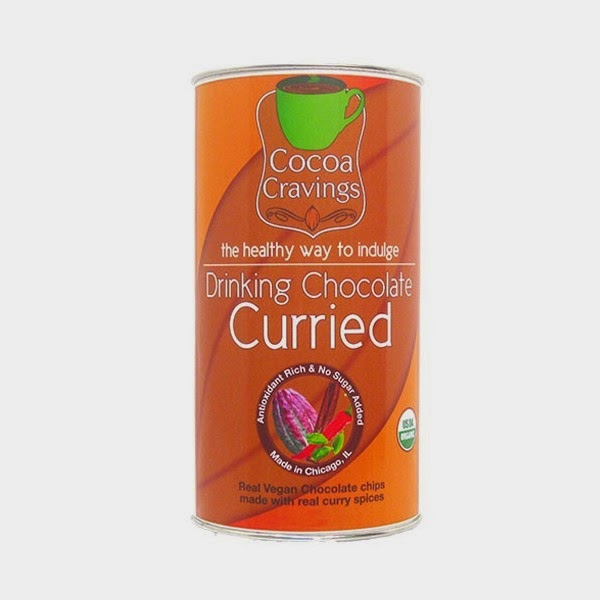 organic drinking chocolate - curried