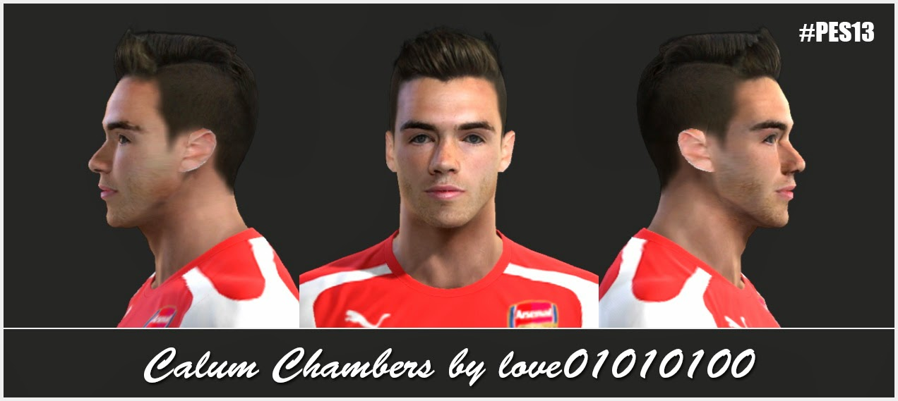 PES 2013 Calum Chambers Face by love01010100
