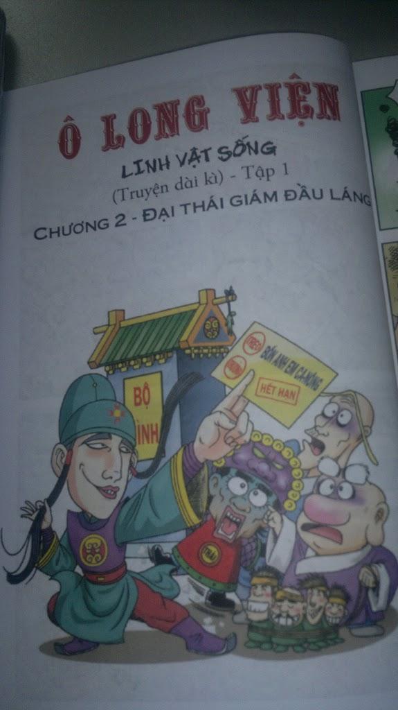 truyện tranh Ô Long Viện- Linh Vật Sống