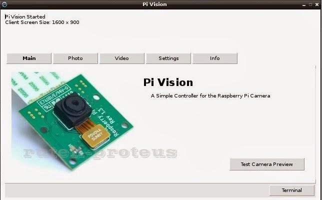 Pi Vision GUI
