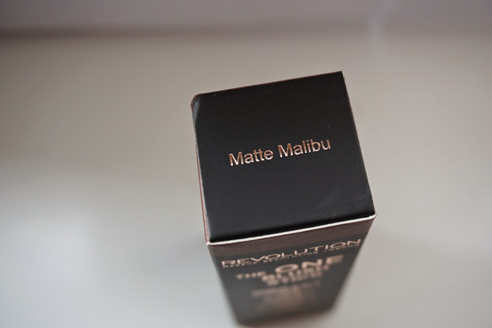 Makeup Revolution The One Blush Stick Matte Malibu - Dusty Foxes Beauty Blog