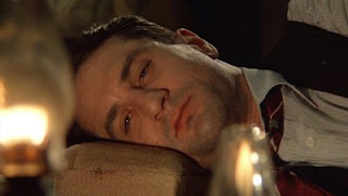 Robert De Niro as Noodles under effect of opium, in Once Upon a Time in America, directed by Sergio Leone