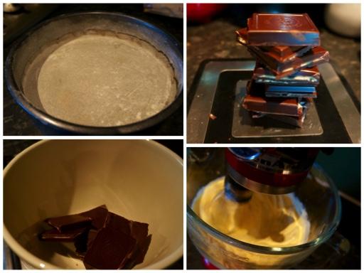 Fanny Cradock Chocolate Pistachio Cake