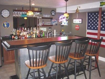 Dise o y decoraci n de la casa dise o de un bar para la casa - Diseno de bares ...