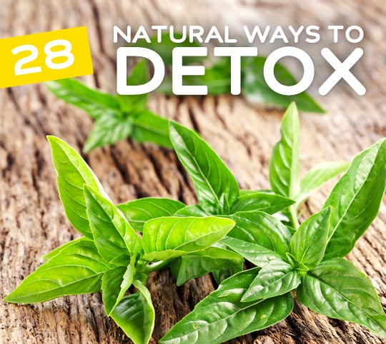 28 Simple & Natural Ways to Detox your Body