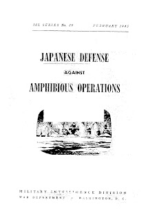Japanese Defense Against Amphibious Operations