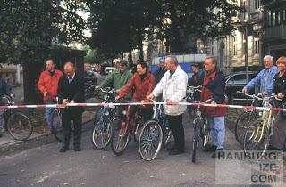 Fahrradstraße Rutschbahn