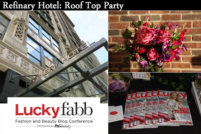 refinery hotel lucky fabb cocktail party