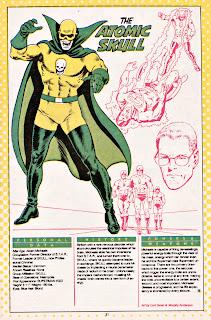 Calavera Atomica (ficha dc comics)