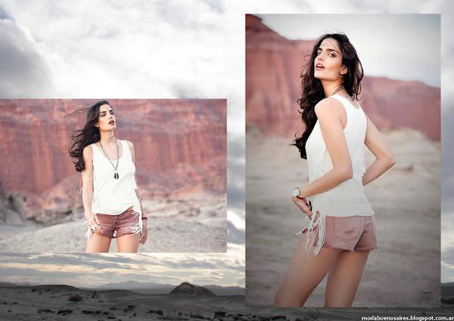 Shorts verano 2016 rpa de mujer moda. Moda 2016.