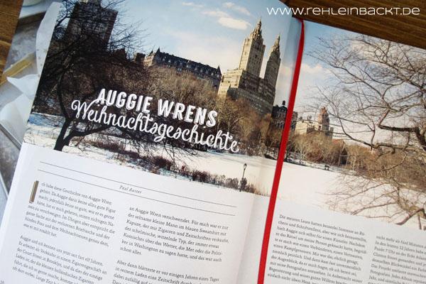 Rezension zum Buch New York Christmas - Rezepte & Geschichten | Foodblog rehlein backt