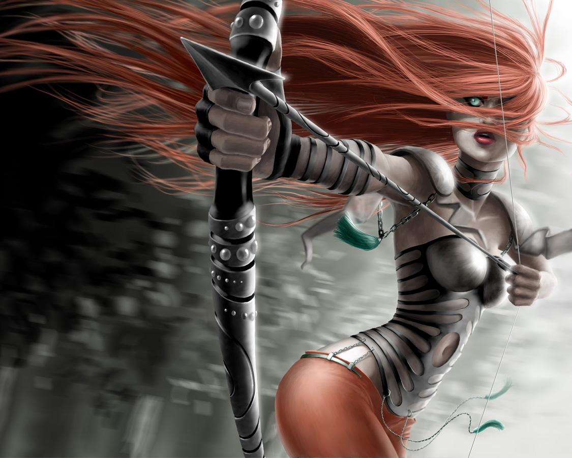 gallery for fantasy archer wallpaper