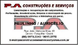 P.A Construções e Serviços