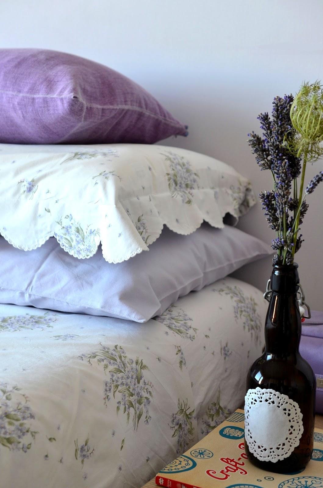 Linfa Creativa: Nuance lilla per la mia camera da letto
