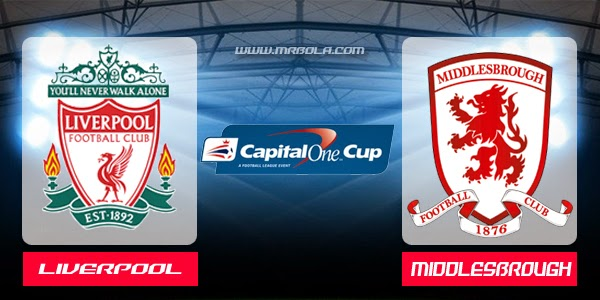 Djazmadz : Prediksi Pertandingan Capital One Cup, The Reds Berambisi Bangkit Kala Kontra Middlesbrough