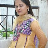 Usha Photos in Salwar Kameez at Gundello Guchi Guchi Champake Movie Press Meet 29