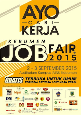 KEBUMEN JOB FAIR - September 2015