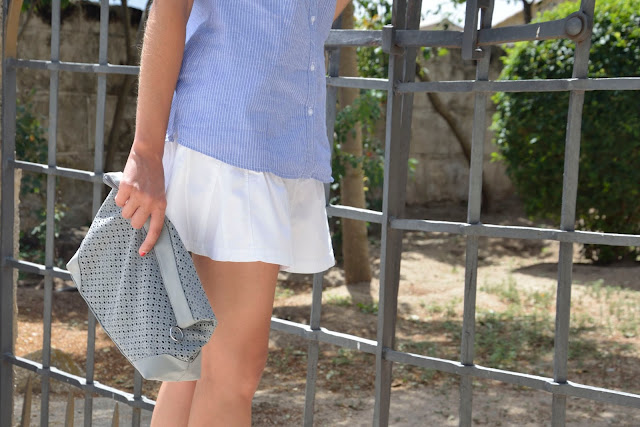 look-verano-falda-casual-camisa-blogger-summer