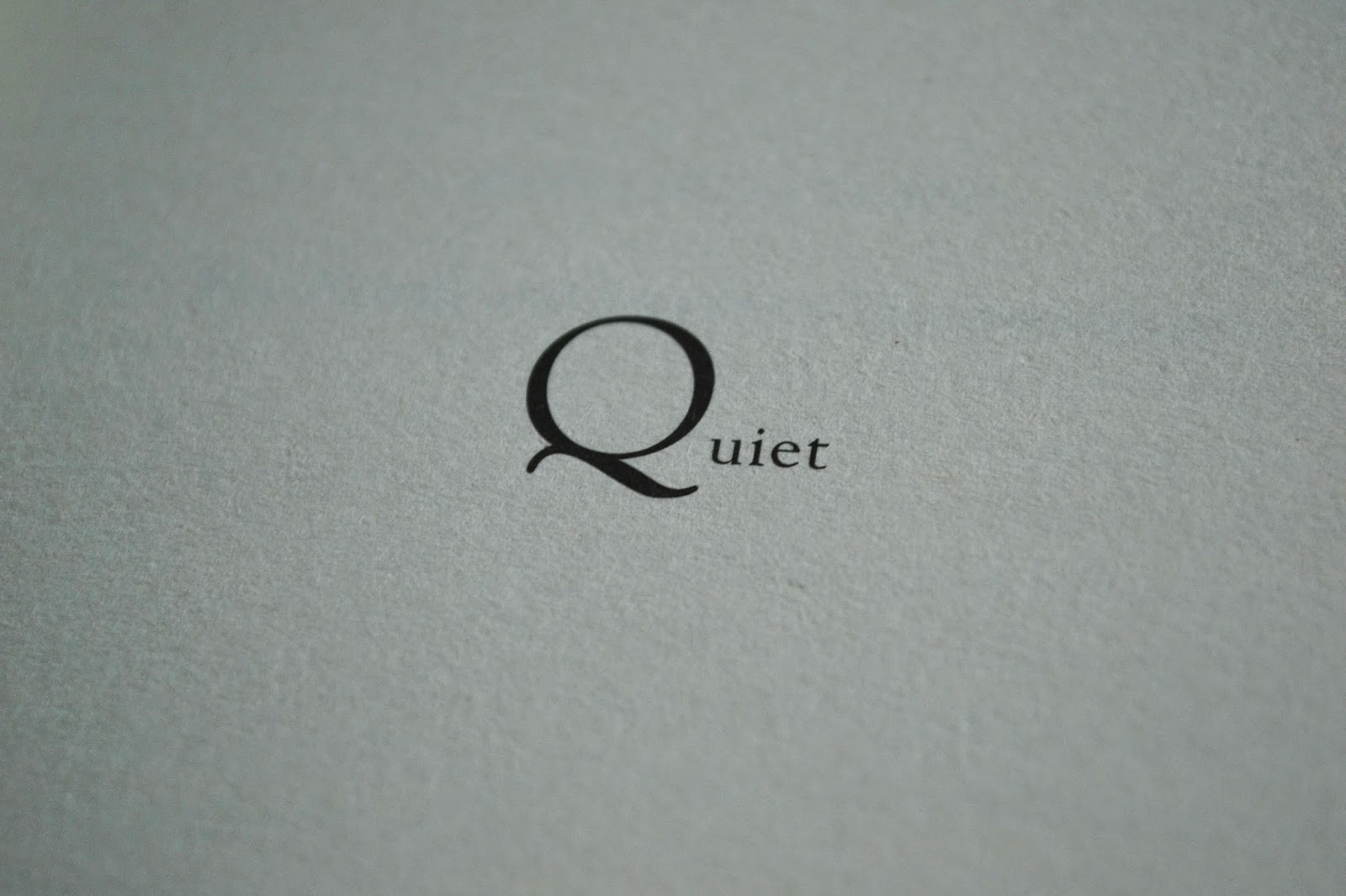Non Fiction Review Quiet by Susan Cain