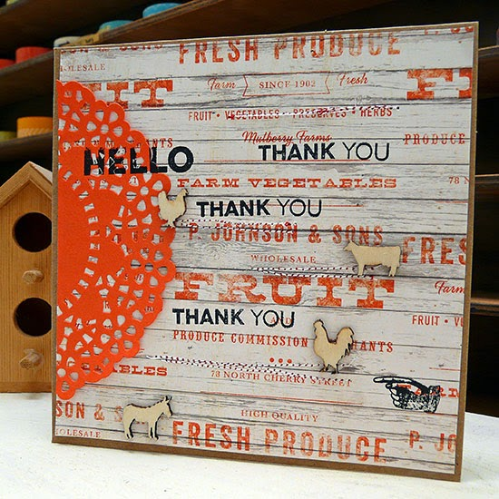 Bluegrass Farm kit card