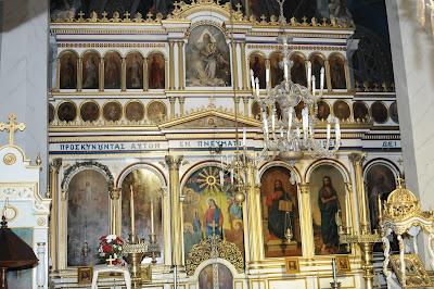 Biserica Greaca din Galati - Vedere spre altar