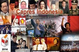 Daftar Nama Kandidat Capres dan Cawapres 2014